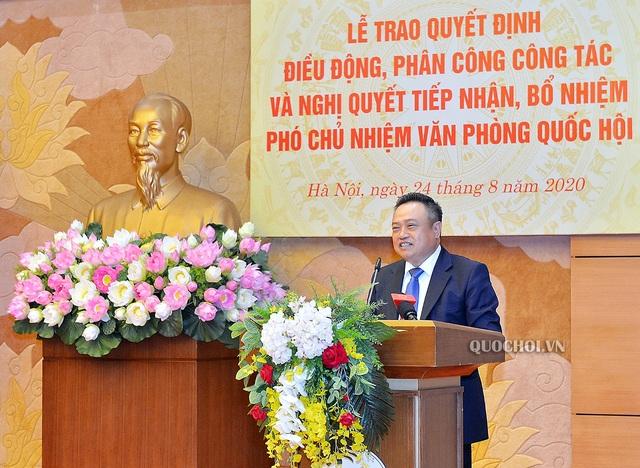 Chủ tịch PVN Trần Sỹ Thanh làm Phó Chủ nhiệm Văn phòng Quốc hội - 2