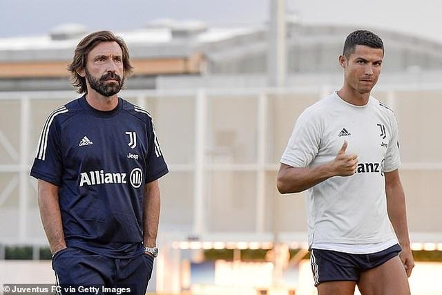 C.Ronaldo gây ấn tượng trong ngày ra mắt HLV Pirlo - 5