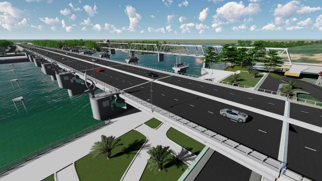 Khánh Hòa: Sắp khởi công Đập ngăn mặn kết hợp cầu 400m trên sông Cái - 1