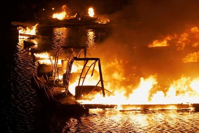 650 đám cháy rừng càn quét bang California, 7 người chết - 15