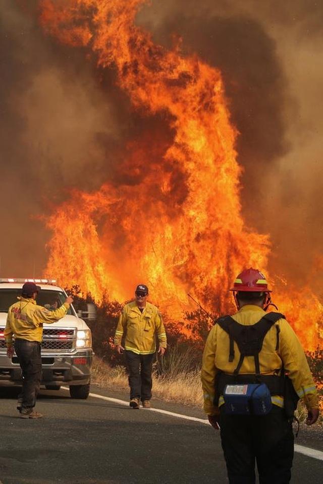 650 đám cháy rừng càn quét bang California, 7 người chết - 5