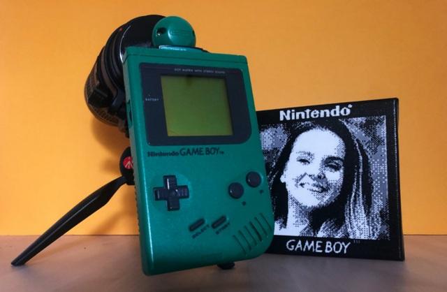 Điều gì sẽ xảy ra nếu gắn lens vào máy Game Boy để chụp ảnh? - 3