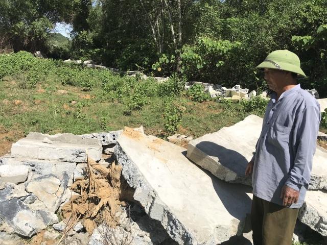 Nghệ An: Nghĩa trang gia đình bị tháo dỡ, dân làm đơn tố lãnh đạo xã - 4