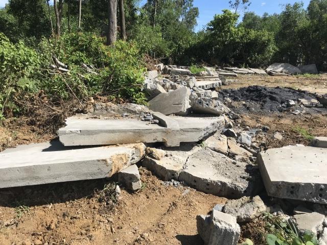 Nghệ An: Nghĩa trang gia đình bị tháo dỡ, dân làm đơn tố lãnh đạo xã - 5