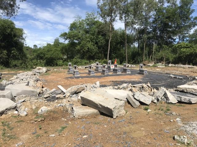 Nghệ An: Nghĩa trang gia đình bị tháo dỡ, dân làm đơn tố lãnh đạo xã - 6