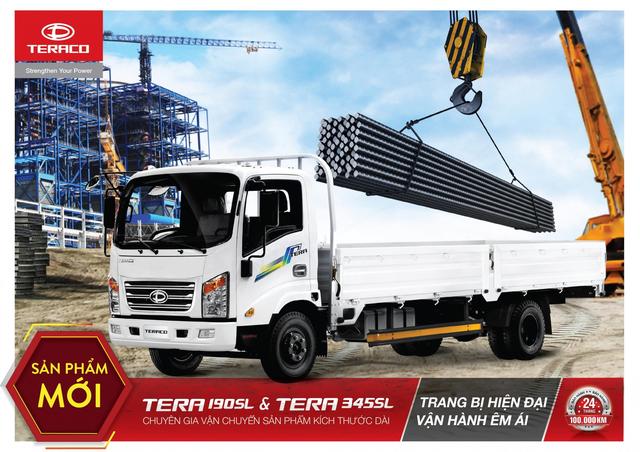Daehan Motors ra mắt bộ đôi tân binh - Tera190SL và Tera345SL - 1