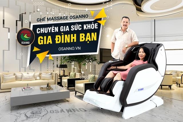 """Ghế massge OSANNO: """"Chiếc ghế vua"""" dành cho sức khỏe người Việt - 3"""