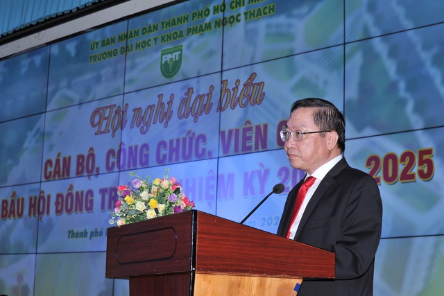Trường ĐH Y khoa Phạm Ngọc Thạch bầu 21 thành viên Hội đồng trường - 2