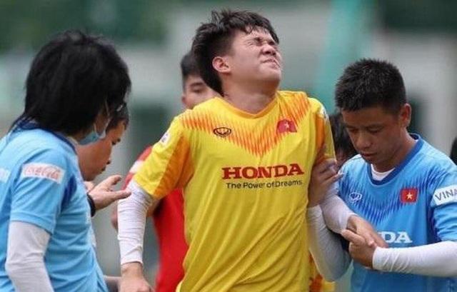 Tiền đạo U22 Việt Nam chia tay HLV Park Hang Seo vì chấn thương - 1