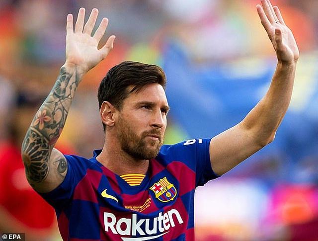 Man City và Man Utd tranh đua giành chữ ký của Messi - 1