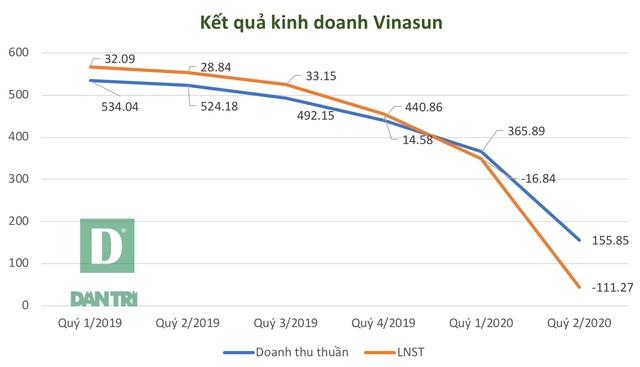 Kinh doanh thua lỗ kỷ lục, vợ và con Chủ tịch Vinasun có động thái lạ - 2