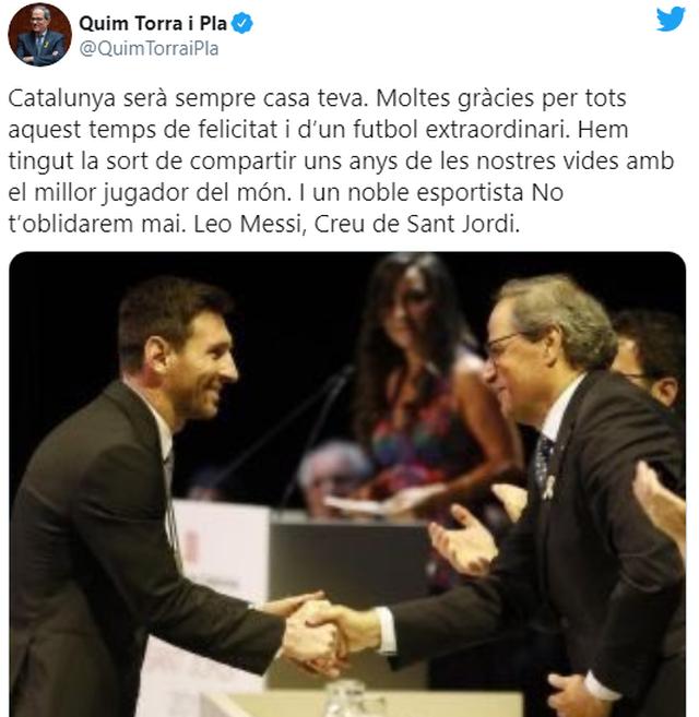 Thế giới bóng đá nói gì về việc Messi muốn rời Barcelona? - 2