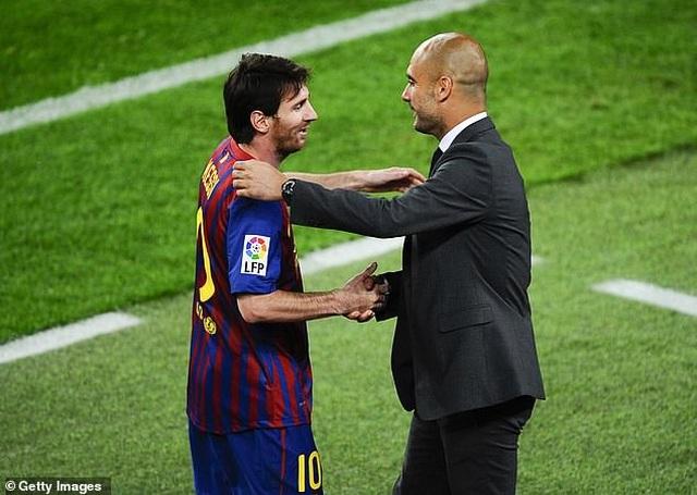 Messi đặt nhiều kỳ vọng ở màn tái hợp HLV Guardiola tại Man City - 2