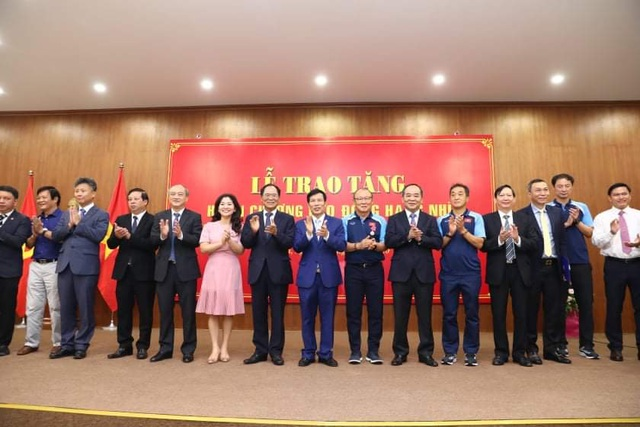 HLV Park Hang Seo vinh dự nhận Huân chương Lao động hạng Nhì - 3