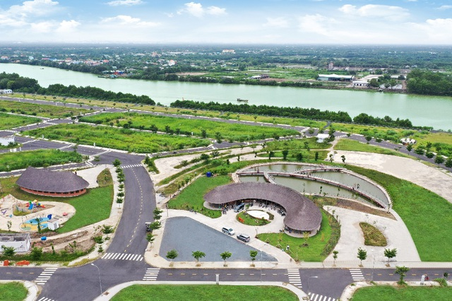 Nhà phố vườn ven sông Saigon Riverpark ra sổ đỏ đúng tiến độ - 2