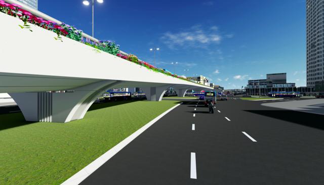 """Hà Nội: Thiết kế hai cây cầu chạy dọc tuyến đường """"đắt nhất hành tinh"""" - 4"""