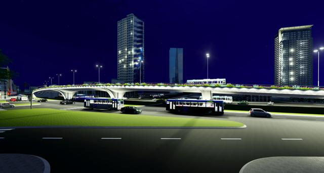 """Hà Nội: Thiết kế hai cây cầu chạy dọc tuyến đường """"đắt nhất hành tinh"""" - 6"""