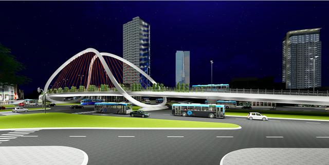 """Hà Nội: Thiết kế hai cây cầu chạy dọc tuyến đường """"đắt nhất hành tinh"""" - 5"""