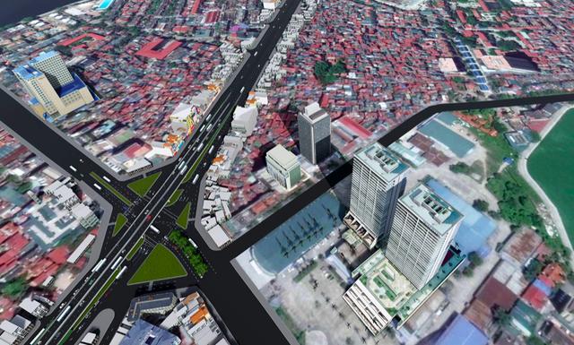 """Hà Nội: Thiết kế hai cây cầu chạy dọc tuyến đường """"đắt nhất hành tinh"""" - 7"""