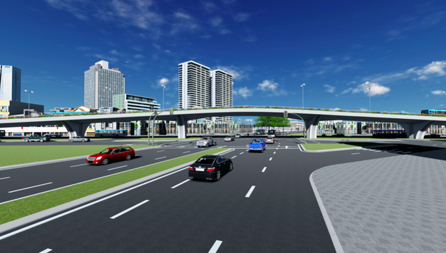"""Hà Nội: Thiết kế hai cây cầu chạy dọc tuyến đường """"đắt nhất hành tinh"""" - 8"""