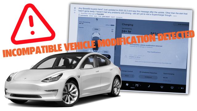 Tesla gây khó dễ cho các chủ xe dùng phần mềm không chính hãng - 2