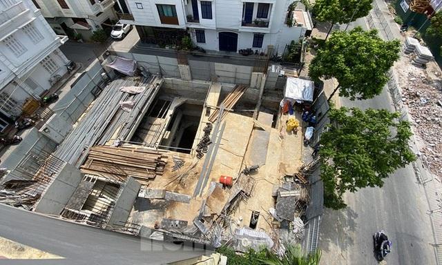 Xôn xao nhà ở riêng lẻ ở Hà Nội được cấp phép đến 4 tầng hầm - 1