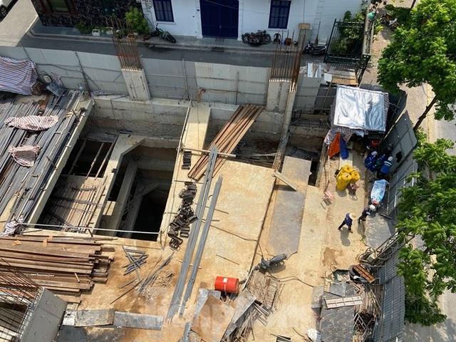 Xôn xao nhà ở riêng lẻ ở Hà Nội được cấp phép đến 4 tầng hầm - 2