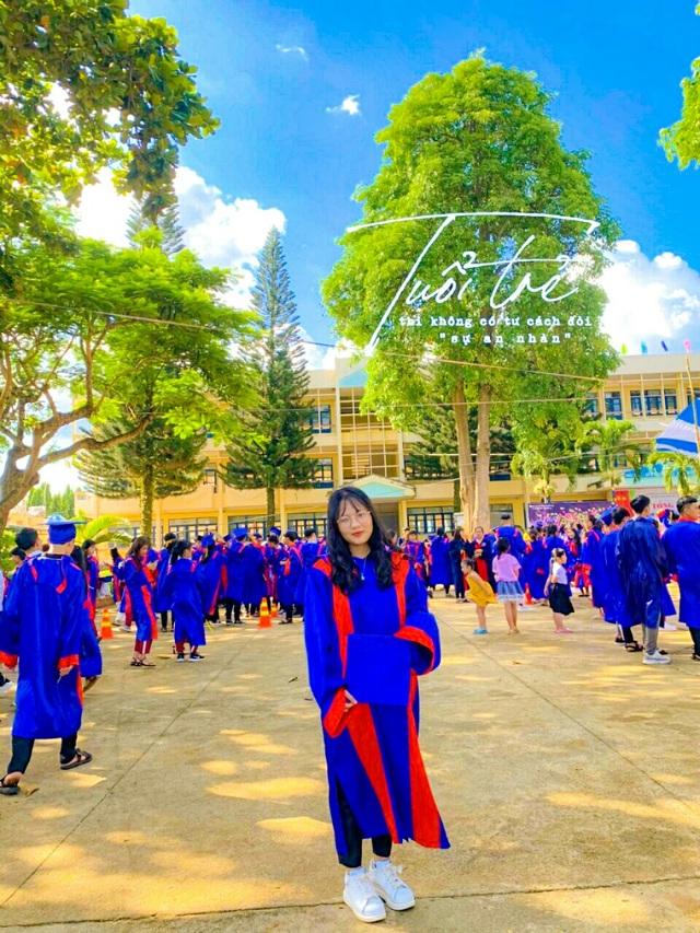 Nữ sinh trường huyện đạt điểm 10 môn Sử nguyện vọng trở thành phóng viên - 4