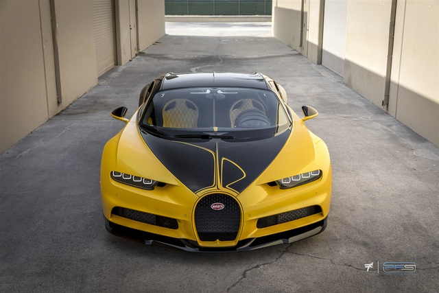Bugatti Chiron Hellbee - Chú ong vàng đắt giá nhất thế giới - 4