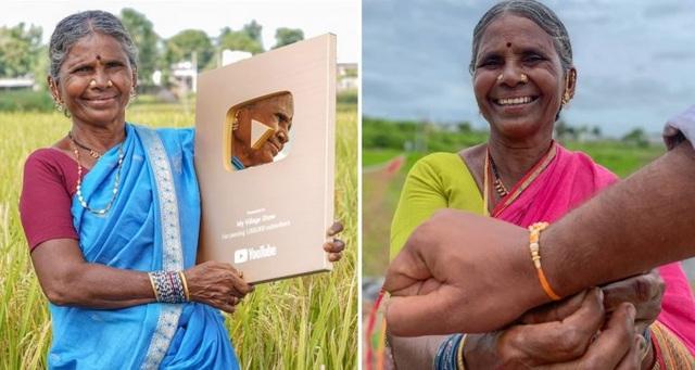 Cụ bà Ấn Độ không biết chữ có hơn 1,6 triệu người hâm mộ trên mạng - 1
