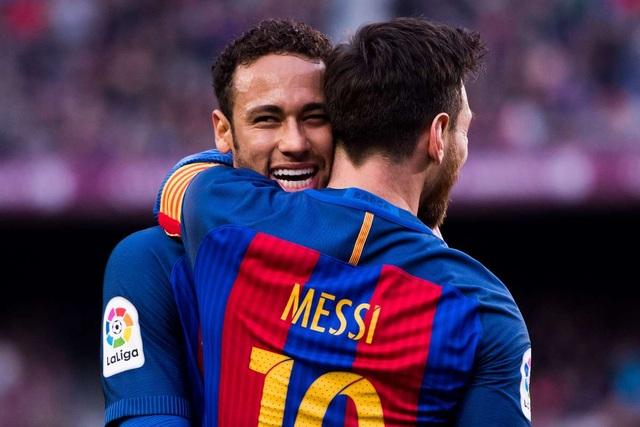 Neymar thúc giục PSG vung tiền chiêu mộ Messi - 1