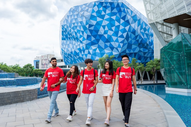 Mở rộng cánh cửa đại học quốc tế với kỳ nhập học tháng 10 tại BUV - 1