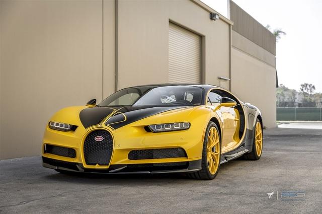 Bugatti Chiron Hellbee - Chú ong vàng đắt giá nhất thế giới - 7