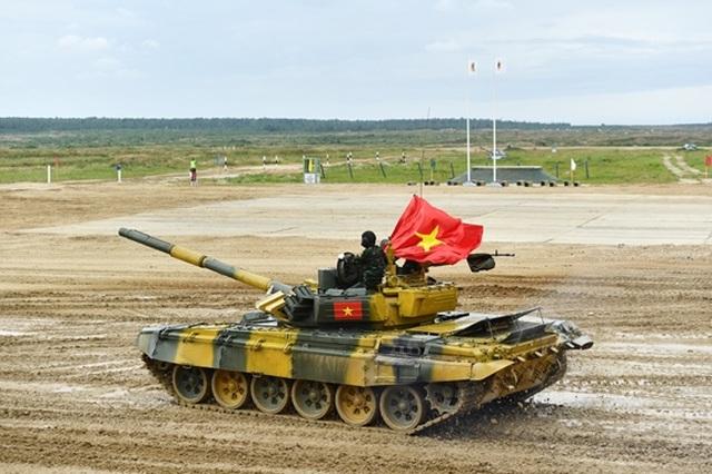 Trận đấu thứ 2 tại Army Games: Đội tăng Việt Nam cán đích đầu tiên - 3