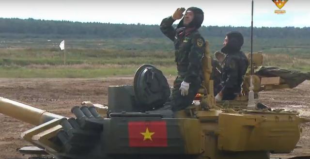 Xe tăng Việt Nam về nhì trong trận thi đấu thứ 3 tại Army Games - 2