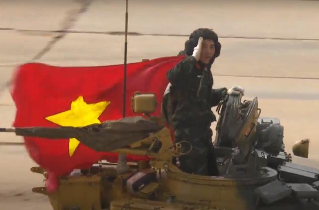 Xe tăng Việt Nam về nhì trong trận thi đấu thứ 3 tại Army Games - 1