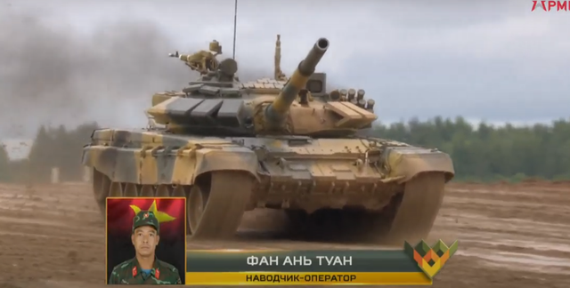 Xe tăng Việt Nam về nhì trong trận thi đấu thứ 3 tại Army Games - 20