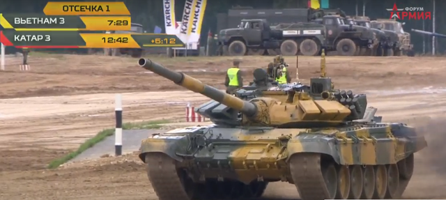 Xe tăng Việt Nam về nhì trong trận thi đấu thứ 3 tại Army Games - 17