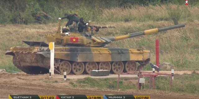 Xe tăng Việt Nam về nhì trong trận thi đấu thứ 3 tại Army Games - 14