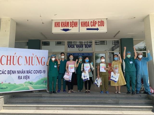 Đà Nẵng, Quảng Nam: 14 bệnh nhân Covid-19 được ra viện - 1