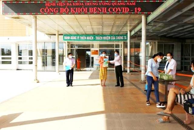 Đà Nẵng, Quảng Nam: 14 bệnh nhân Covid-19 được ra viện - 2
