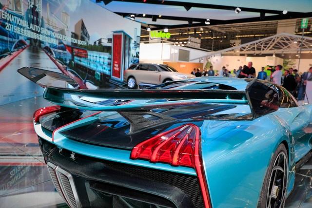 Soi chi tiết siêu xe hybrid giá 1,45 triệu USD của Trung Quốc - 7