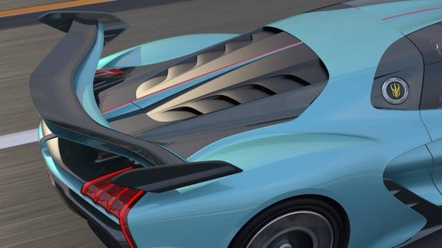 Soi chi tiết siêu xe hybrid giá 1,45 triệu USD của Trung Quốc - 21