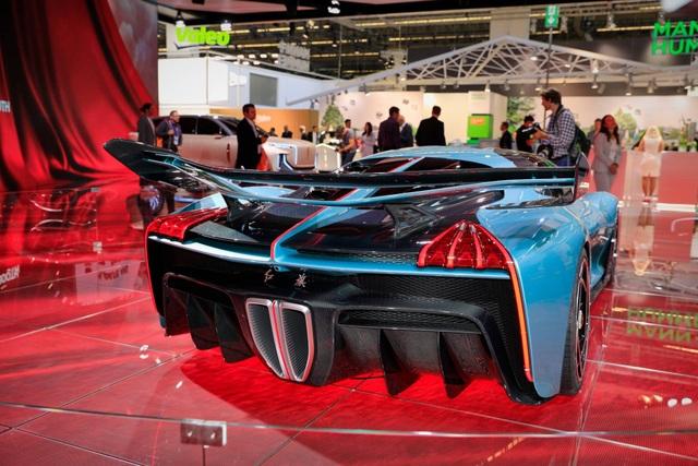 Soi chi tiết siêu xe hybrid giá 1,45 triệu USD của Trung Quốc - 9
