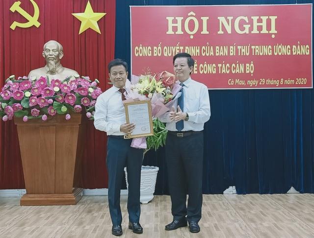 Thứ trưởng Bộ LĐ-TBXH Lê Quân làm Phó Bí thư Tỉnh ủy Cà Mau - 1