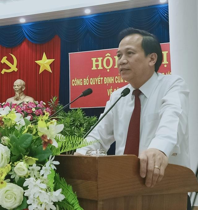 Thứ trưởng Bộ LĐ-TBXH Lê Quân làm Phó Bí thư Tỉnh ủy Cà Mau - 4