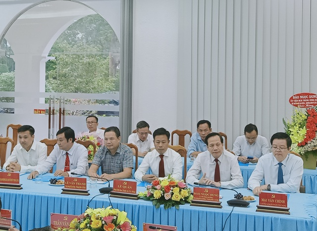 Thứ trưởng Bộ LĐ-TBXH Lê Quân làm Phó Bí thư Tỉnh ủy Cà Mau - 3