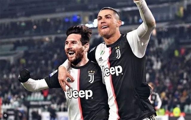 Juventus muốn đưa Messi về chơi bên cạnh C.Ronaldo - 1