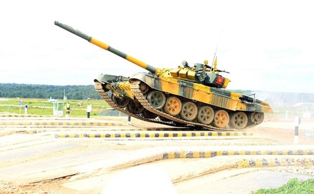 Xe tăng Việt Nam về nhì trong trận thi đấu thứ 3 tại Army Games - 28