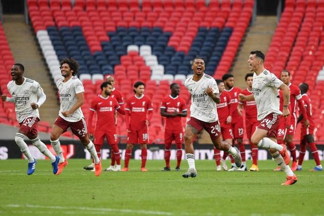 Arsenal giành chiếc cúp đầu tiên của mùa giải 2020/21 - 12